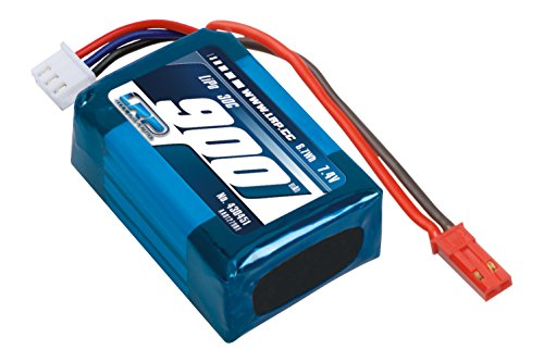 LRP Electronic 430451 - Deep Blue One/340 Tuning LiPo - 900mAh - 2S2P - 7.4V - 30C