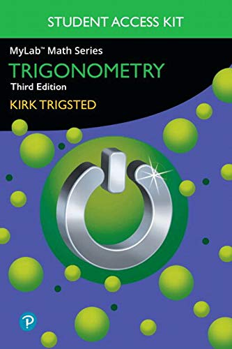 MyLab Math for Trigsted Trigonometry -- Access Kit