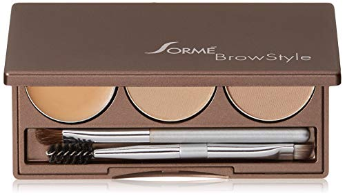 Sorme Poudrier Brow Style - Pour de formidables sourcils sexy comme les célébrités - Coloris Soft Blonde (blond doux)