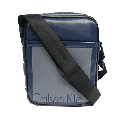 Calvin Klein Cruise Reporter Borsa, Uomo Blu