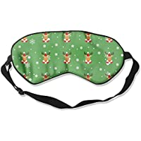 Eye Mask Eyeshade Christmas Deer Sleep Mask Blindfold Eyepatch Adjustable Head Strap preisvergleich bei billige-tabletten.eu