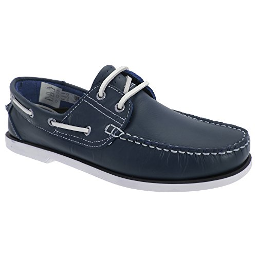 Dek - Chaussures bateau - Homme Bleu Marine