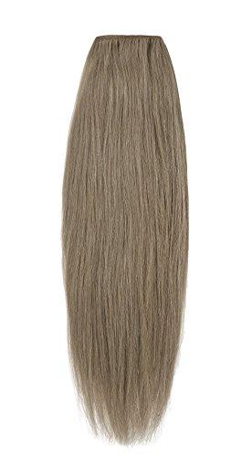 American Dream Extensions capillaires 100% cheveux humains 40,6 cm de qualité supérieure Couleur 18 – Blond Cendré