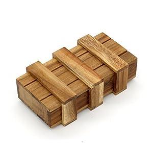 Ouken Die Magic Box Wooden Trick Puzzle Spiele Magic Secret Schublade