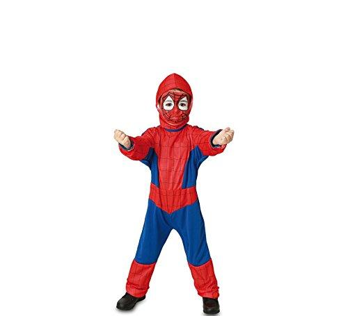 Fyasa 706075-t00Spider Hero Kostüm, Klein (Für Spider-kostüm Kleinkinder)