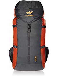 Wildcraft 60 Ltrs Orange Rucksack (8903338073833)