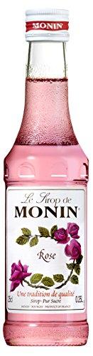 Mini Monin Syrup - Rose (250ml) Monin Rose