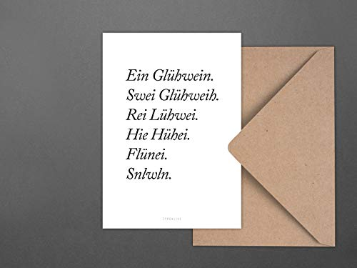 Postkarte/Glühwein