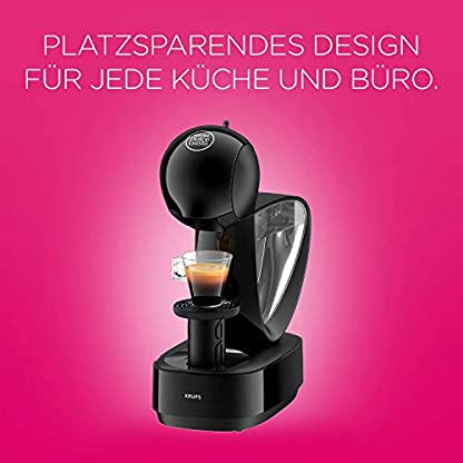 Krups-Nescaf-Dolce-Gusto-Infinissima-KP1708-Kapsel-Kaffeemaschine-15-bar-Pumpendruck-manuelle-Wasserdosierung-12-l-Wassertank-Abschaltautomatik-schwarz-Zertifiziert-und-Generalberholt