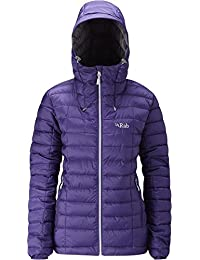 RAB WOMENS NEBULA JACKET JUNIPER/ZINC (UK SIZE 10)