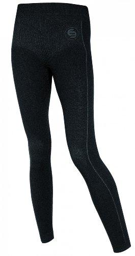 Brubeck LE10320 Damen Hose S, Thermo Soft Merino, lang (Alpin, Langlauf, Yoga, Pilates, TaiChi, Meditation, Skiunterwäsche Funktionswäsche, long pants, Funktionshose), Größe:S
