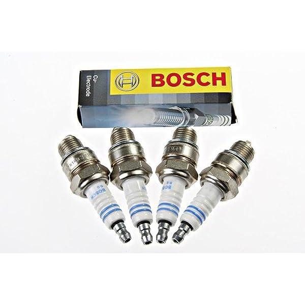 4x Original Bosch ZÜndkerzen Bosch Kerzen 0 241 229 612 ZÜndkerze W8ac Auto
