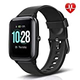 LETSCOM Fitness Tracker with Heart Rate Monitor, Smart Watch, Activity Tracker, Step Counter