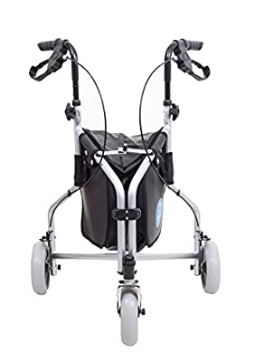 Angel Mobility LIGHTWEIGHT ROLLATOR FOLDING TRI WALKER WALKING FRAME ZIMMER 3 WHEEL WALKER