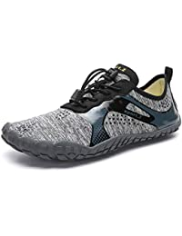 2507b8a59534 IceUnicorn Water Shoes Mens Womens Quick Dry Sports Aqua Shoes Unisex Swim  Shoes with 14 Drainage