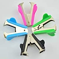 Mental Stapler Mini Office Staple Remover 4 Colores Aleatorio Huihuger