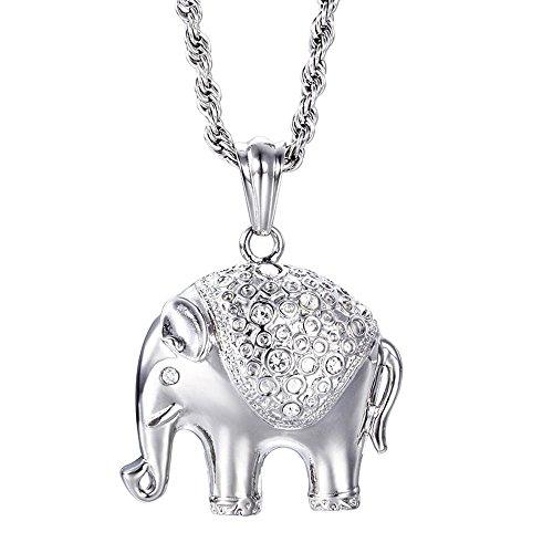 Aoligei Lindo collar de Boutique Animal Europeo y americano Moda titanio acero...