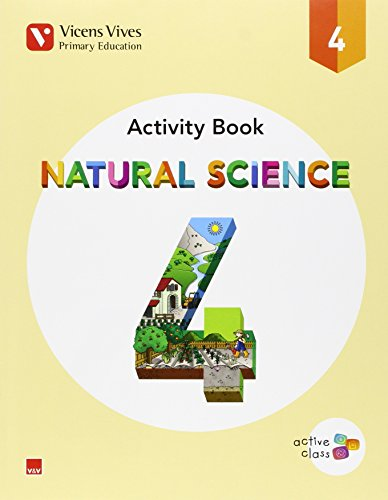 NATURAL SCIENCE 4 ACTIVITY BOOK (ACTIVE CLASS): 000001 - 9788468230306