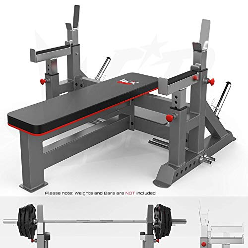 We R Sports Commercial Weight Bench & Bar Rack & Weight Plate Rack Chest Press Bench Weights