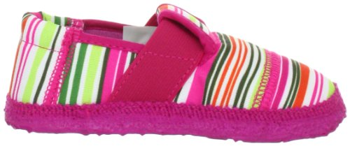 Nanga 06-0078, Chaussons fille Rose (Himbeere 27)