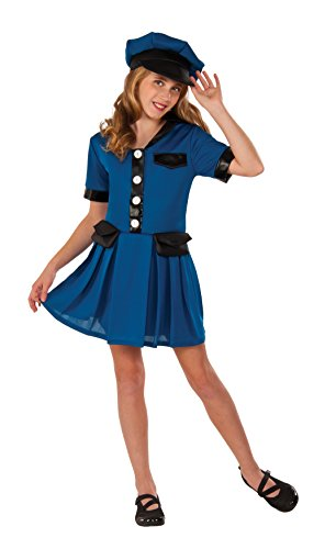 Rubies Lady Cop Girls Police Costume M