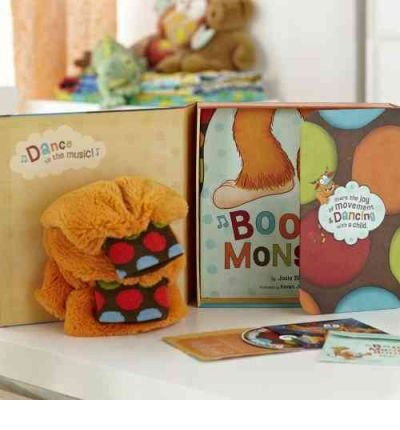 Boogie Monster Dance Kit [With Plush Boogie Legs Socks and CD (Audio)] [ BOOGIE MONSTER DANCE KIT [WITH PLUSH BOOGIE LEGS SOCKS AND CD (AUDIO)] ] by Bissett, Josie (Author) Jul-15-2011 [ Hardcover ]
