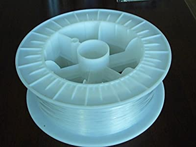 Fibre optique lumières–1mm câble optique côté lumineux, Sparkling/pois sur le côté, parfait pour DIY de FibreOptic