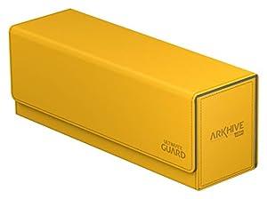 Ultimate Guard Caja para almacenar Cartas Arkhive 400 +. Tamaño estándar XenoSkin, Color ámbar