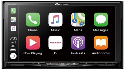 Pioneer AVH-Z9200DAB, WLAN, Apple CarPlay, Android Auto Rca Dual Dvd-player
