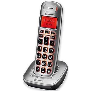 amplicomms BigTel 1201, Schnurloses Großtastentelefon als zusätzliches Mobilteil, Hörgerätkompatibel