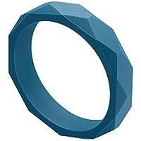 Cadeau de naissance - Bracelet Anneau de dentition pour Maman MintyWendy - Bleu Pétrole