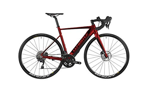 Whistle - Bicicleta de Carretera eléctrica Flow Alloy 22 V Fazua Talla 54 Rojo 2019 (Carretera eléctrica)