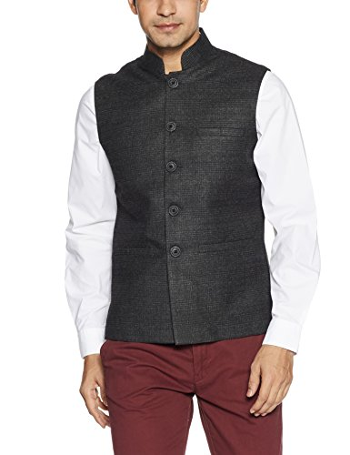 Fort Collins Men's Nehru Jacket (92850 OLAnthraXxl)