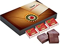 ChocoCraft Rakhi Chocolates Gifts for Brother 12 Chocolate Box