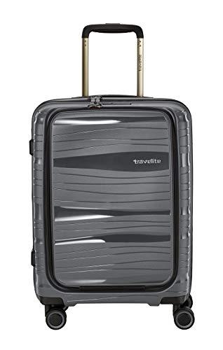 Leichte Farbe (Travelite Leichter, robuster und beweglicher Rollen-Reisekoffer Trolley