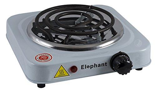 elephant-hornillo-electrico-para-carbon-de-shisha-bambu-o-cascaras-blanco-pack-de-1-unidad