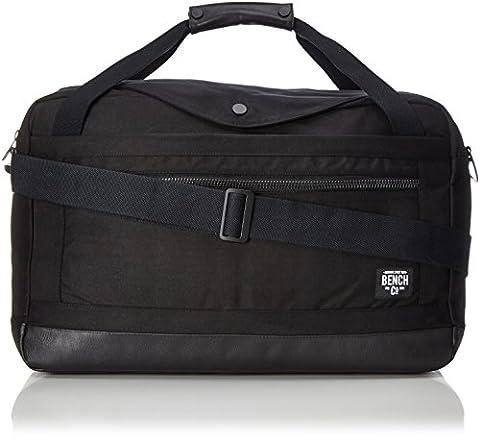 Bench Herren Weekender Handtasche, Black, 36 x 61.6 x 5.8 cm (Handtasche Bench)