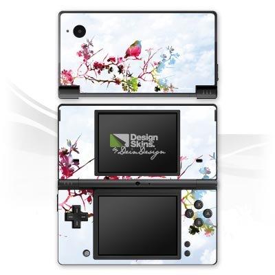Nintendo DSi Case Skin Sticker aus Vinyl-Folie Aufkleber Vogel Spatz Ast