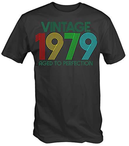6TN Hombre Vintage 1979 Envejecido perfección