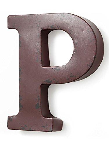 Burgund Metall (Buchstaben