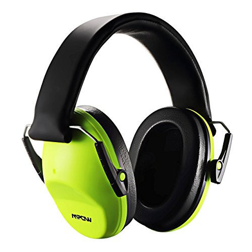 Mpow Casque Anti-Bruit Enfant Adulte Pliable Réglable avec Sac Transport, Casques Antibruit à Protection Auditive de Réduction du Bruit pour Concert/Feu d'artifice, Cache-Oreilles NRR 25dB/SNR 29dB