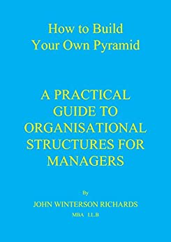 HOW TO BUILD YOUR OWN PYRAMID: A Practical Guide to Organisational Structures for Managers (English Edition) di [RICHARDS, JOHN WINTERSON]