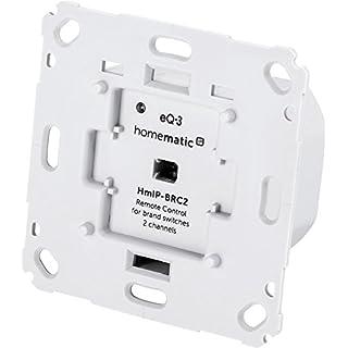 Homematic IP Wandtaster für Markenschalter - 2-fach, 152000A0