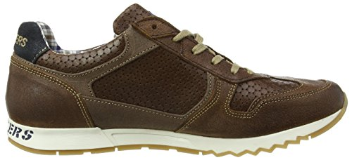 Dockers by Gerli 38eb002-208, Baskets Basses homme Marron - Braun (cognac/blau 476)