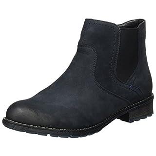Remonte Damen R3378 Chelsea Boots, Blau (Pazifik), 44 EU