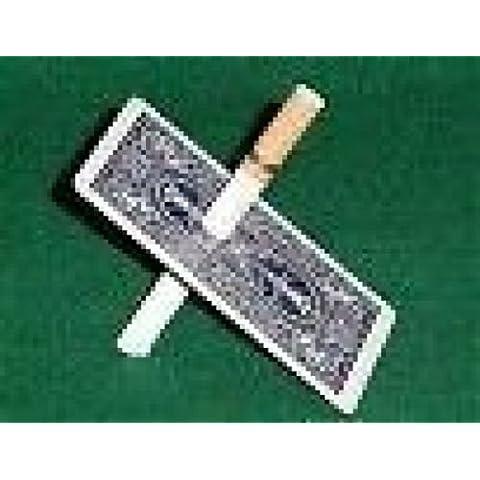 sigaretta attraverso la carta, giochi di prestigio,trucchi magia