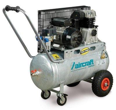Preisvergleich Produktbild Aircraft - AIRPROFI 401/50 - Profi-Kompressor mit Zweizylinder-Hochleistungsaggregat