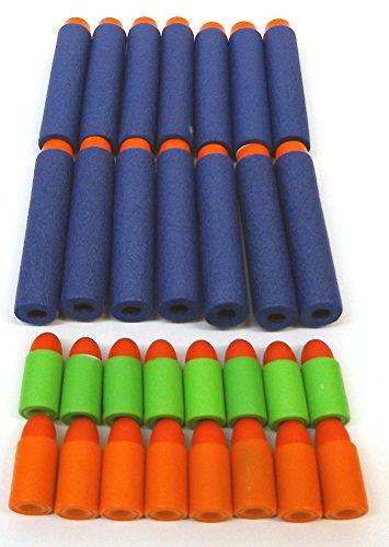Brigamo 43023 - 30 Stück Softdartpfeile Nachfüllset thumbnail