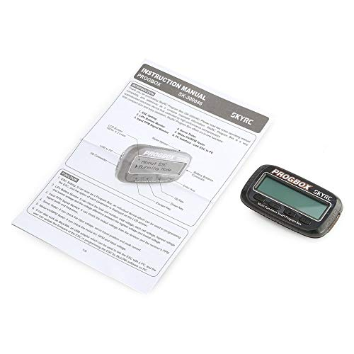 SKYRCPROGBOX Program Box for RC Model ESC Setting Servo Motor KV/RPM Tester Lipo Battery Monitor SK-300046 six-in-one Skylink-receiver