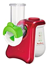 Moulinex DJ8115 Rosso, Bianco grattugia elettrica